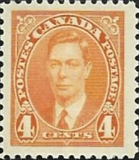 Canada  # 234  King George VI Issue   Brand New  1937 Pristine Original Gum