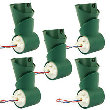 5 Stück Gelenk zur Reparatur passend für Vorwerk Kobold EB 350 und EB 351 Bürste
