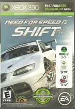 Need for Speed Shift Microsoft Xbox 360 2009 Video Game Platinum HITS EASports E