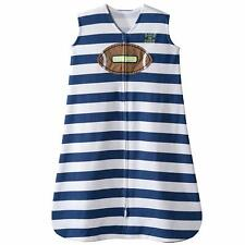 Halo Sleepsack Wearable Blanket Football Stripe - Sizes Small & Medium