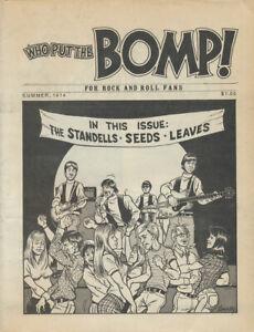 Who Put The Bomp issue 12 - Summer 1974 [USA] - Magazine