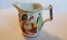 19th Century Staffordshire  Pratt Ware Commemorative Wellington Jug circa 1810