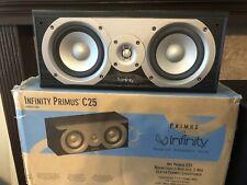Infinity Primus C25 NIB Mint! Center Channel Monitor HiFi Tested