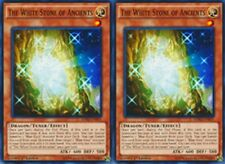 2 X The White Stone of Ancients 1st  YUGIOH LDK2-ENK05 English Tuner monster