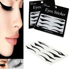 4 Styles Sexy Instant Tattoo Transfer Eyeshadow Eyeliner Eyes Sticker Make-Up