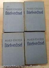 Marx-Engels Briefwechsel- 4 Bände aus der DDR von 1950 Dietz Verlag Berlin