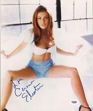 Carmen Electra Signed 11x14 Photo PSA/DNA COA Full Autograph Picture Playboy