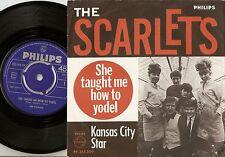 THE SCARLETS HOW TO YODEL & KANSAS CITY STAR NORWAY DANISH 45+PS `66 DANISH BEAT