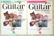 New Play Guitar Today! Level 1 & Songbook w/ Cds - Hal Leonard Guitar Method