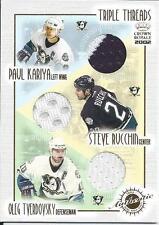Paul Kariya Mighty Ducks of Anaheim 01/02 Crown Royale Triple Threads  Jersey SP