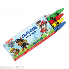 12 Packs Paw Patrol Puppy Pets Childrens Party Treat Favour 4 Crayon Sets