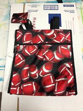 NEW Football Bag/Purse with small coin purse-tote