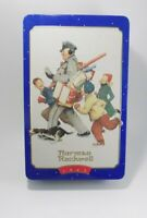 Vintage 1996 Snickers  Norman Rockwell Limited Edition Tin Canister Circa 1949