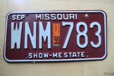 US Nummernschild USA Kennzeichen Licence Plate Deko American Schild Missouri