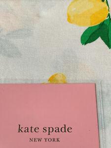 YOUR CHOICE Kate Spade MAKE LEMONADE Table Linens, Cloth Runner Napkins NEW