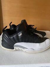 Nike Air Jordan 12 XII Retro Low Playoff Black/White Red 308317-004 Size 11