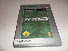 PlayStation 2  PS 2  F1 - Formel Eins 2001 [Platinum] (1)