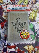 Yu-gi-oh 50 protège carte sleeves Millenium GRIS grey black noir yugi rare
