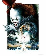 Le film de Stephen King 2017 A3 Film Affiche ODEON Minuit Screening Pennywise