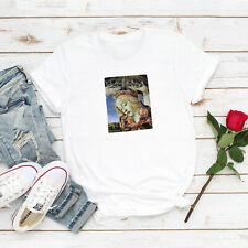 Angel Camiseta Madonna Botticelli Arte estética grunge alternativa para Mujer Hombre Tee