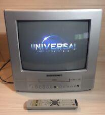 "Retro DAEWOO 14"" DVD Combi CRT Gaming Scart  TV Television."