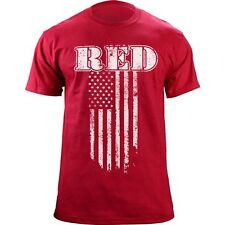 Red Friday Vintage Flag Support the Troops T-Shirt