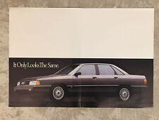 1988 Audi 200 Sedan Showroom Advertising Sales Poster RARE!! Awesome L@@K