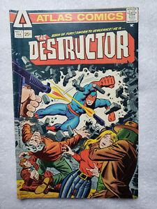 The Destructor #1 (Feb 1975, Atlas / Seaboard) [VG/FN 5.0]
