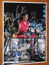 """RED HOT CHILI PEPPERS - CHAD SMITH- SIGNED - 8"""" X 10"""" COLOUR PHOTO"""