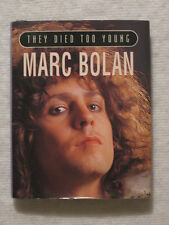 TOM STOCKDALE MARC BOLAN THEY DIED TOO YOUNG Series Mini Book Parragon 1995 Ex.