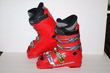 Salomon Course T Flex 50 Ski Boots, Red/Black, Mens Us Size 5.5, Eu 38
