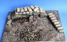 Resicast 1/35 British QF 18-pounder Gun WWI Diorama Base (8¼ x 6¼ inches) GBS001
