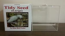 "TIDY SEED LARGE FEEDER - THE ORIGINAL ""NO-MESS"" BIRD FEEDER!"