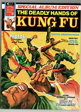 DEADLY HANDS OF KUNG FU SPEC ALBUM EDITION MARVEL 1974 MARTIAL ARTS BRONZE AGE