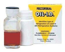 Rectorseal 45001, A/C & Refrigeration Oil Identification Kit