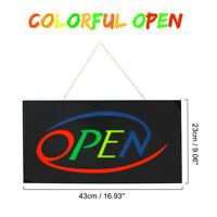 OPEN LED Neon Sign Light Visual Artwork Party Beer Bar Pub Cafe Window