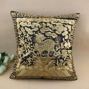 EMBROIDERD Classical Kirin Cushion Cover home decor pillowcase multi-color
