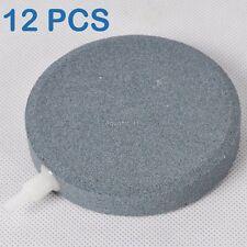 "12x Air Bubble Disk Stone Aerator Aquarium Pond Pump Hydroponics 4"""