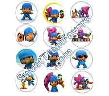 POCOYO Party Supplies Pocoyó 12 PINS Buttons FAVORS Decoration Birthday Treats