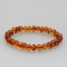 Beautiful Genuine Baltic Amber baroque conac adult bracelet   TA-1434