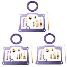 3x Kit Réparation Carburateur Pour Kawasaki H2 KH750 Kh 750 Abc Do 4 Année Fab.