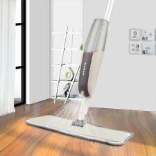 Cleaning Spray Floor Mop Reusable Microfiber Pads Water Tank Handle Super Absorb