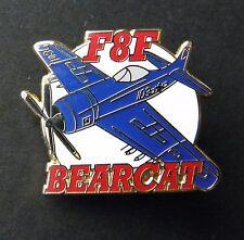 Grumman F8F Bearcat Carrier Flight Aircraft Plane Lapel Hat Pin Badge 1.5 inches