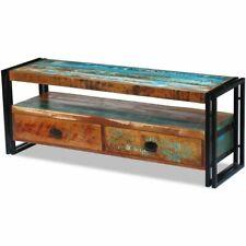 Vidaxl mueble para TV de madera maciza reciclada estante aparador mesa auxiliar