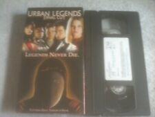 Urban Legends: Final Cut (VHS, 2001)
