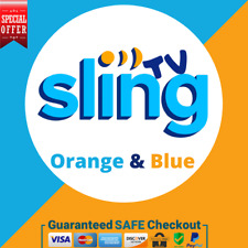 SlingTV Orange + Blue  💻 1 YEAR WARRANTY 😲 SUPER FAST DELIVERY 🚀