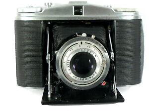 Agfa Isolette II Rollfilmkamera 6x6 mit Apotar 4,5/85 mm - generalüberholt