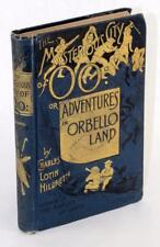 1893 The Mysterious City of OO Charles Lotin Hildreth Lost Race Novel Hardcover