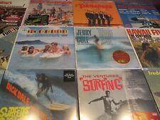 SURF LEGENDS VENTURES DIMENSIONS DALE COLE BEACH BOYS SURF MUSIC Analog LP SET