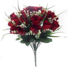 Flores secas y artificiales decorativas Bush para el hogar